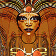 055 - Egyptian Woman Warrior Magic   Poster