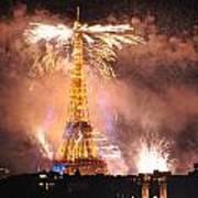 Eiffel Hat Poster