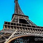 Eiffel In Spring Poster