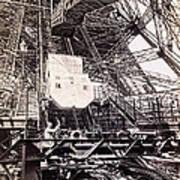 Eiffel Tower Elevator Shop C. 1888 Poster