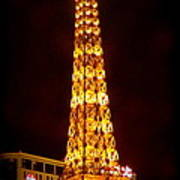 Eiffel Tower Las Vegas Nevada Poster