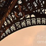 Eiffel Tower Paris France Arc Poster