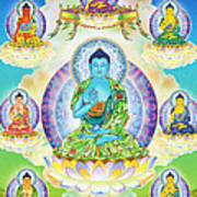 Eight Brothers Of The Medicine Buddha Poster