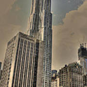 Eight Spruce Street By Gehry Poster