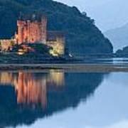 Eilean Donan Castle Dusk Poster