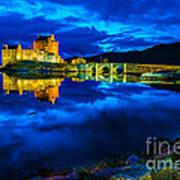 Eilean Donan Castle Scotland IIi Poster