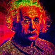 Einstein - Pop Art Poster
