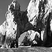 El Arco In Black And White Poster