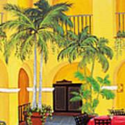 El Convento In Old San Juan Poster by Gloria E Barreto-Rodriguez