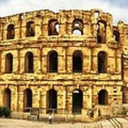 El Jem Colosseum Poster