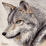 El Lobo Poster by Vikki Wicks