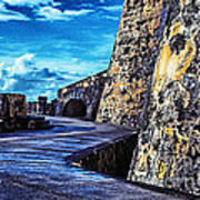 El Morro Fortress Old San Juan Poster by Thomas R Fletcher