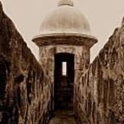 El Morro Sentry Poster