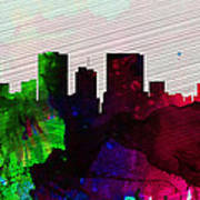El Paseo City Skyline Poster