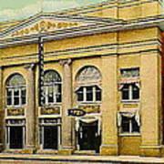 El Reno Oklahoma Opera House And Theatre 1910- Dwight Goss Poster