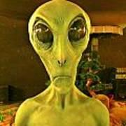 Elderly Alien Poster