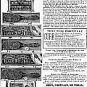 Electric Brushes, 1883 Poster