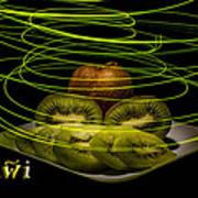 Electric Kiwi I Poster