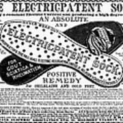 Electric Socks, 1884 Poster