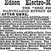 Electro-magnetic Garter Poster
