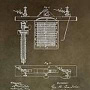 Electroplating Procedure Patent Poster