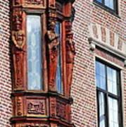 Elegant Window In Bergen Poster