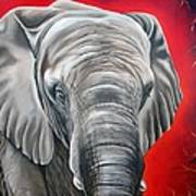Elephant Six Of Eight Poster