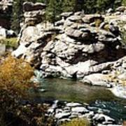 Eleven Mile Canyon - Mountain Stream Poster