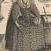 Elizabeth, Queen Of England, C.1603 Poster