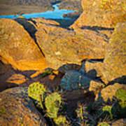 Elk Mountain Sunset Poster