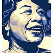 Ella Fitzgerald Portrait Poster