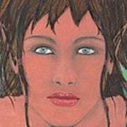 Elven Woman Poster
