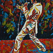 Elvis If I Can Dream Poster