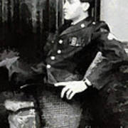 Elvis In Uniform Poster