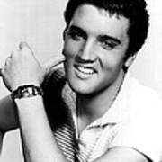 Elvis Presley Looking Casual Poster