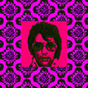 Elvis Presley Window M88 Poster
