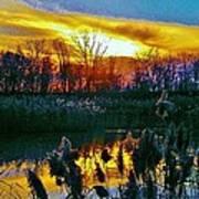 Emagin Sunset Poster