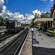 Embsay Railway Station Yorks Dales Poster