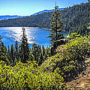 Emerald Bay Lake Tahoe California Poster
