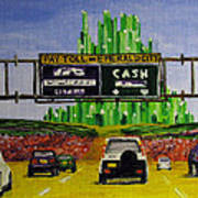 Emerald City Toll Plaza Poster