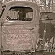 Emergency Truck Poster