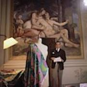 Emilio Pucci By A Fresco Poster