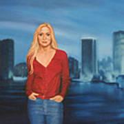 Emily  Miami Skyline Poster