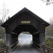 Emily's Bridge Stowe Vermont Poster