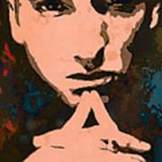 Eminem - Stylised Pop Art Poster Poster by Kim Wang