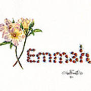Emmah In Ladybugs Poster