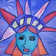 Emma's Lady Liberty Poster
