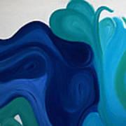 Emotional Waves Poster