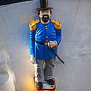 Emperor Norton Figurehead Poster by Garry Gay