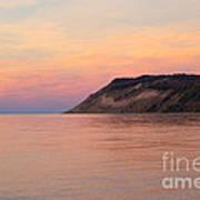Empire Bluffs Sunset Poster